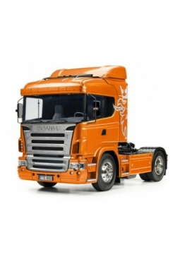 Tamiya Scania R470 Highline orange