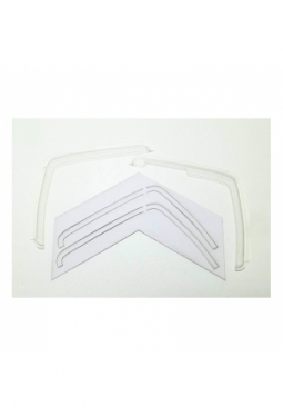 Wind deflector for 1/14 Tamiya Mercede..