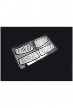 Stainless Steel Front Footboard V8 for..