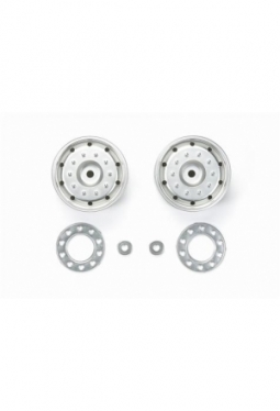 Metal-Plated Wheels (30mm/Hex/Matte) 5..