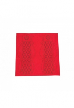 Red Flannel Seats Decal for Tamiya 1/1..