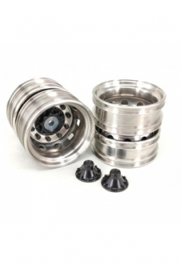 Stainless Steel Scania Rear Wheels Ver..