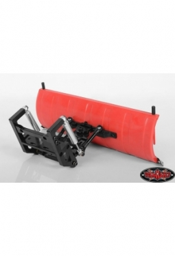 RC4WD Super Duty Blade Snow Plow (Red)..