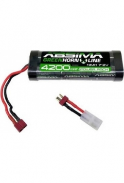 ABSIMA Greenhorn NiMH Stick Pack 7.2V ..