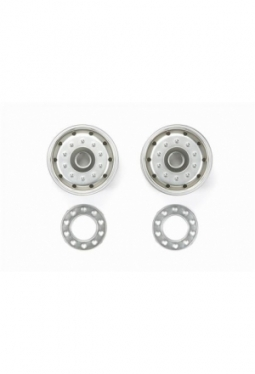 Tamiya Metal-Plated Wheels (30mm/Matte..