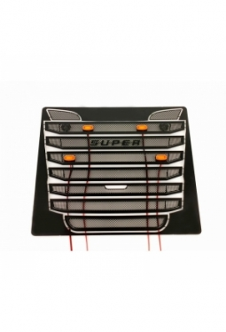 Stainless Steel Black V8 Grill Vent Tr..