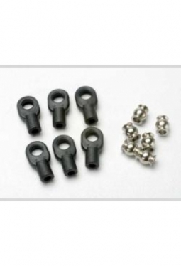 Traxxas 5349 ROD ENDS, SMALL W/HOLLOW ..